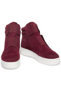 Suede high-top sneakers | ATELJE 71 | 45% off | US | THE OUTNET