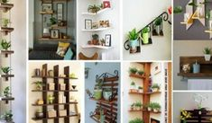 15 Inspiradoras Ideas De Estanterías Con Plantas, Que Harán Que Cualquier Pared De Tu Hogar Luzca Impresionante