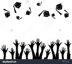Resultado de imagen para middle school graduation clipart