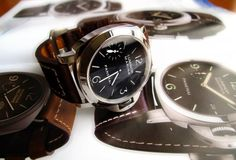 Aaah, my next watch! Panerai 111, Watches, Leather, Accessories, Wrist Watches, Tag Watches, Clocks