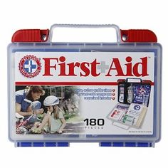 Be Smart Get Prepared First Aid Kit, 150 Pieces