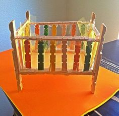 Sticks Furniture, Tiny Furniture, Barbie Furniture, Miniature Furniture, Dollhouse Furniture, Wooden Clothespin Crafts, Wooden Clothespins, Wooden Pegs, Wood Crafts