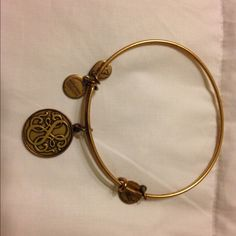 Alex and Ani Path of Life Shows some wear but in great condition. Alex & Ani Jewelry Bracelets