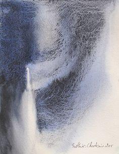 Watercolor 15,5 x 20 cm Muriel Buthier-Chartrain, France / 2015