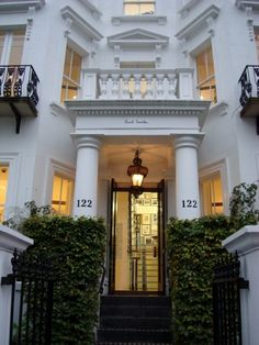 Paul Smith townhouse shop in Notting Hill in London