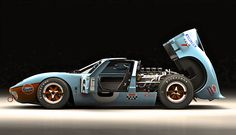 redhousecanada:  GT40 Supercar                                                                                                                                                                                 More