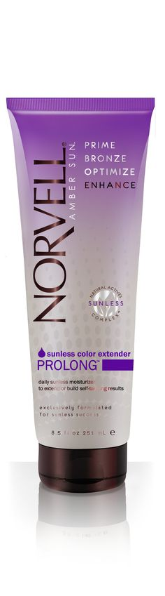 MUST have for any spray tan!! Norvell Sunless Prolong tinted tan extending moisturizer