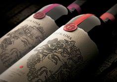 Package design for Lefkadia Premium wine