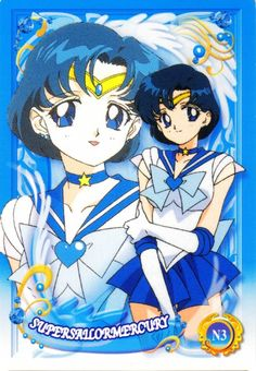 Toei Animation Trading Cards, Sailor Mercury