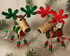 THE CUTEST WINE CHRISTMAS ORNAMENTS EVER.  *****Start Your Herd Today******  Winedeer ™ (with the signature bells on antlers) , Very Merry Moose, and Bighorn Sheep Wine Christmas Ornaments are totally unique pieces. Our Wine Christmas Ornaments have been handcrafted using Gold plated beads, over 60 parts and 72 individual steps to create a quality treasure to last for generations. Collect all your favorites...new designs every year. ** NOW SKI OPTION AVAILABLE ON ETSY STORE ** We hope you…
