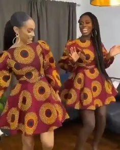 Short African Dresses, Latest African Fashion Dresses, African Print Dresses, African Print Fashion, Nigerian Dress Styles, Ankara Fashion, Africa Fashion, African Prints, African Fabric