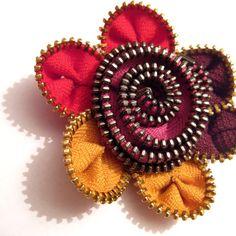 Newsboy Hat with Zipper Flower  Crochet Pattern And by CrocheTrend, $4.99