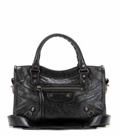 Classic Mini City leather tote | Balenciaga