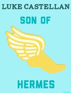 Luke Castellan,  son of herms #lukecastellan #herms