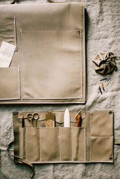 DIY Leather Inspiration - Maker's Bag