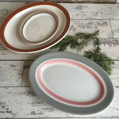 Vintage Restaurant Ware Platters - Homer Laughlin - Syracuse - Shenango - Small Medium Large by TheClassicButterfly on Etsy