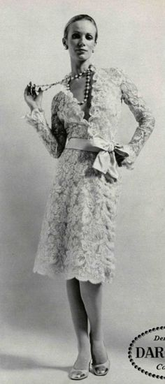 1971 - Chanel lace dress