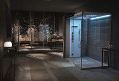 Cabine doccia con sauna e bagno turco