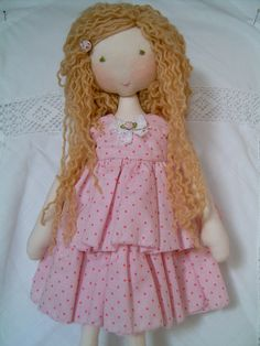Handmade rag doll clothes.                                                                                                                                                                                 Mais