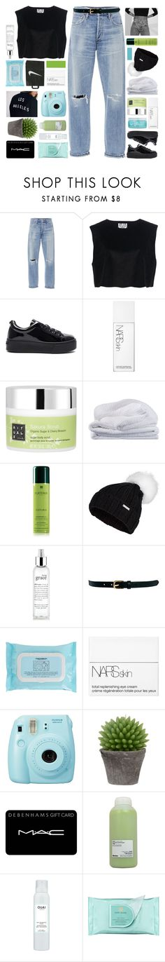 """""""MY BODY SHAPED LIKE JEANNIE."""" by samiikins ❤ liked on Polyvore featuring Citizens of Humanity, Ava Catherside, Kenzo, H2O+, NARS Cosmetics, Rituals, Sheridan, Rene Furterer, Sweaty Betty and philosophy"""