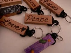 The Best Free Crafts Articles: Make a Jenga Block Keychain Free Tutorial By Shelley of Abundant Blessings Blog