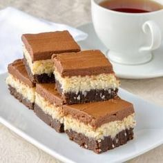 Queen Anne Squares. Another popular cookie bar in Newfoundland, especially at the Holidays.
