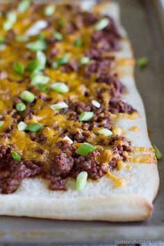 BBQ Beef Pizza