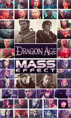 Mass Effect/Dragon Age