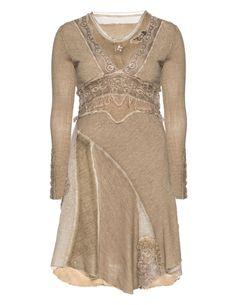 ELISA CAVALETTI - Double layer material mix dress - navabi