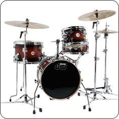 DW drums Mini-Pro Kit 16 Tobacco Burst