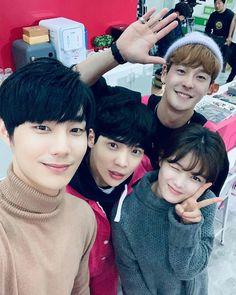 Elenco Clean with passion for now Drama Film, Drama Movies, Hak Jin, Korean Actresses, Korean Actors, Kim Joo Jung, Kyun Sang, Song Jae Rim, Songs To Sing