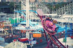 Coney Island, From above