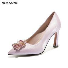 4d714622fb9f6 Encontrar Más Bombas de las mujeres Información acerca de NEMAONE rojo rosa  de las mujeres zapatos