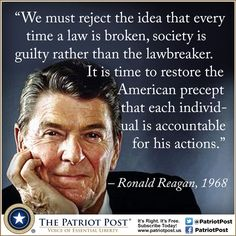 Quote: Reagan on Accountability