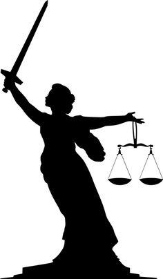 Free Image on Pixabay - Silhouette, Lady, Justice, Legal Lady Justice, Law And Justice, Free Illustrations, Illustration Art, My Images, Free Images, Justice Tattoo, Tattoo Portfolio, Graduation Pictures