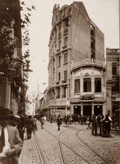 1916.  São Paulo.  São Bento Street