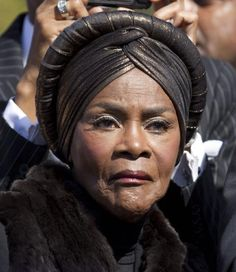 Cicely Tyson, great actress.  I LOVED ANYTHING SHE EVER PLAYED IN.  SHE'S GORGEOUS INSIDE AND OUTSIDE AND SHE'S AN AMAZING ACTRESS...... ♥