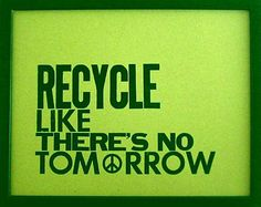 very happy to live in the first state to be on board with recycling and concern for the enviornment. It is in our genes.
