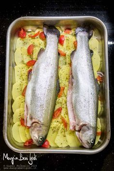 Baked Trout, Baked Cod, Shellfish Recipes, Cayenne Peppers, Brown Sugar, Seafood, Meat, Baking, Drinks
