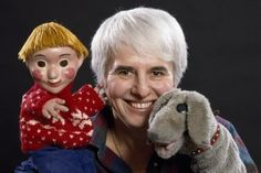 Photo: puppeteer Judith Lawrence with Casey and Finnegan Photography Date: Late My Childhood Memories, Early Childhood, Jenny Brown, Fred Rogers, Television Program, Kids Tv, Kids Shows, Puppets, Cool Kids