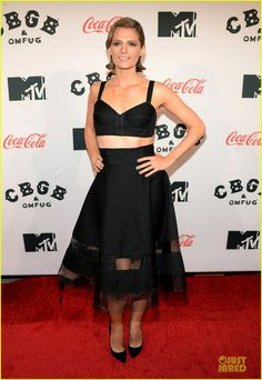 Stana Katic at the CBGB NYC Premiere on October 8, 2013