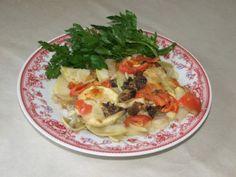 Запеченные овощи с грибами «Радость»