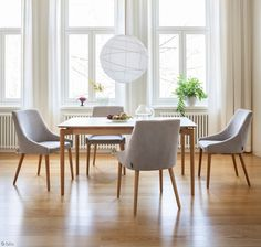 Luonto Odense dining table and chairs Dining Table Chairs, Dining Area, Odense, Scandinavian Home, Interior, Modern, Kitchen, Inspiration, Furniture
