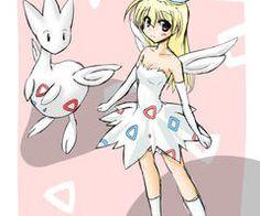 pokemon as Anime girl