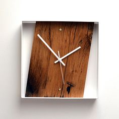 Reclaimed French Oak Wall Clock. The perfect gift! Simply Stunning!