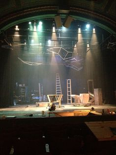 Theatre lighting under the sea & Selected Visibility - Presentational lighting clearly focusing on ...