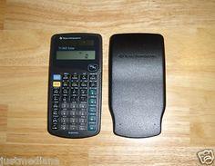 Vintage Texas Instruments Black Calculator TI-36X Solar - 1997 - Collectors