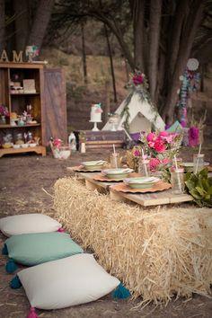 elaborate picnic