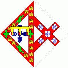 Heráldica Real Portuguesa Armas de D. Isabel de Bragança