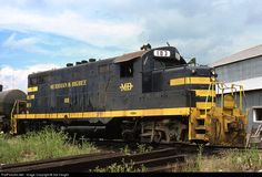 RailPictures.Net Photo: MB 103 Meridian & Bigbee EMD GP7 at Meridian, Mississippi by Sid Vaught